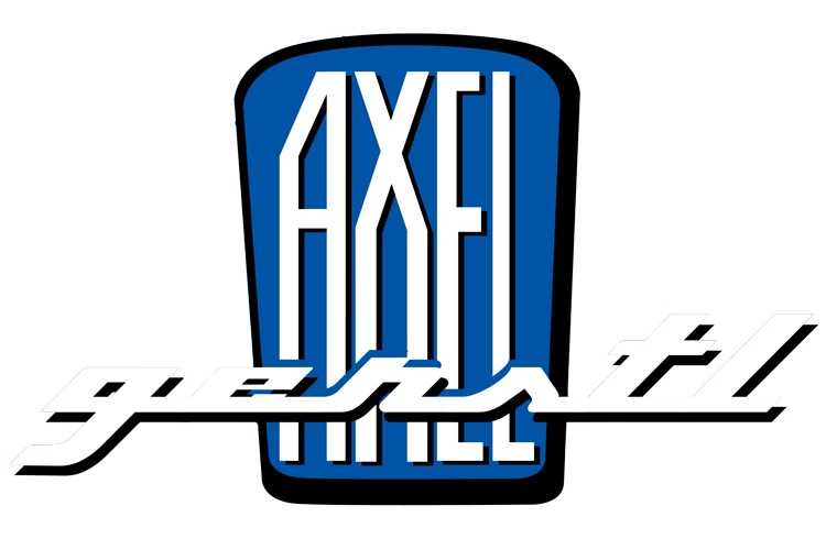 Sticker Axel Gerstl blue small