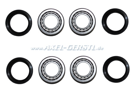 Set of rear wheel bearings, for 2 sides (pol. production)
