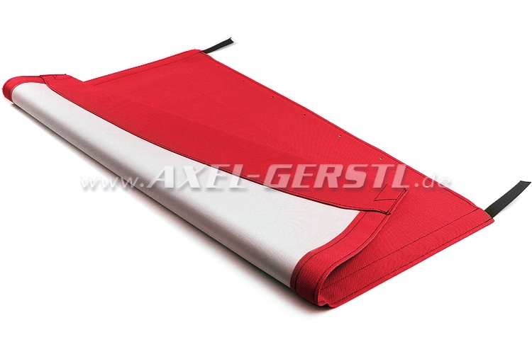 Convertible top cover, red