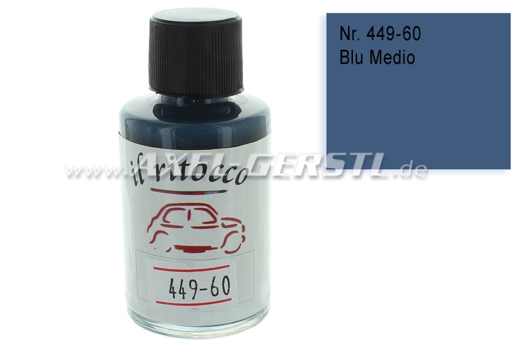 Touch-up paint for the bodywork, blue (medium), N. 449