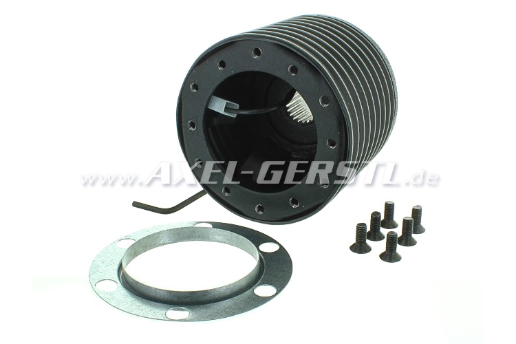 Steering wheel hub for Fiat 126, collapsible (safety hub)
