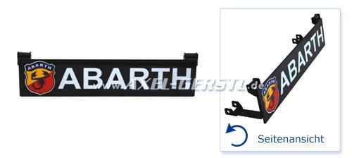 Motorhauben-Aufsteller unten, Abarth (Wappen & Schriftzug)