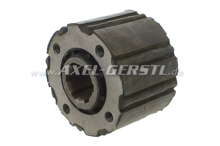 Axle coupling, coarse pitch, type 1