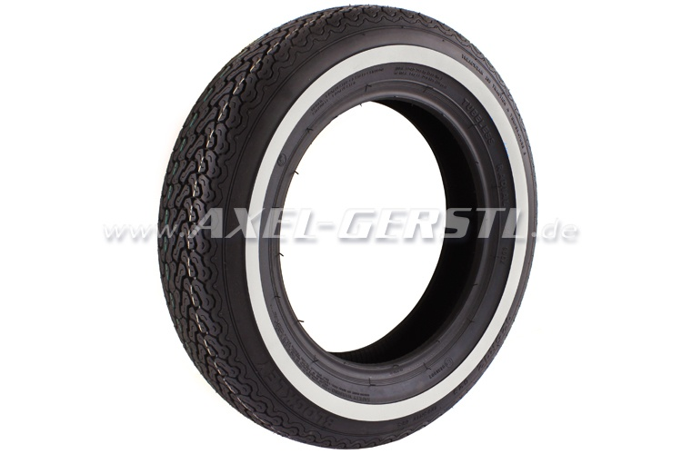 Tire with white streak by Blockley 125 R12 62S