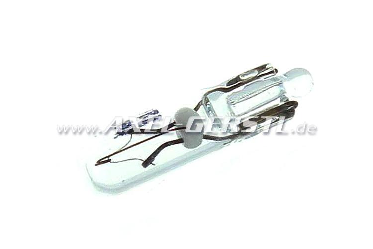 Glühlampe 12V / 1,2W für Kontrolleuchten (Glassockellampe)