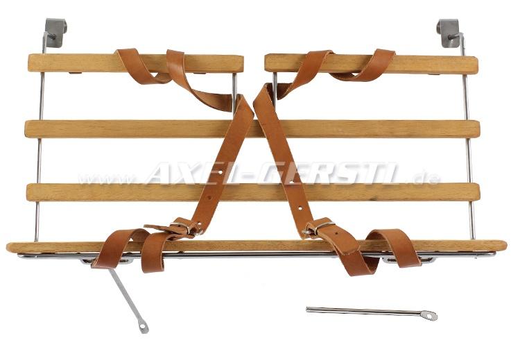 SoPo: Gepäckträger f. Motorhaube, Holz (zum Einhängen)
