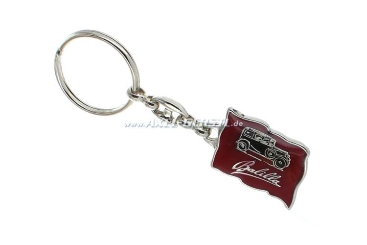 Key fob Balilla metal