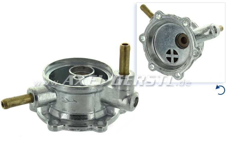 Fuel pump head
