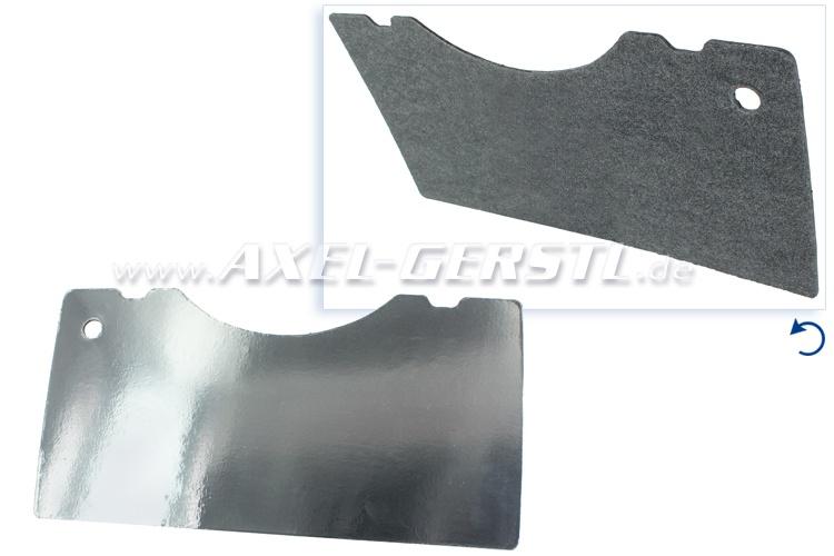 Isolierplatte m. Reflex-Folie (Hitzeschutz) für Motorhaube