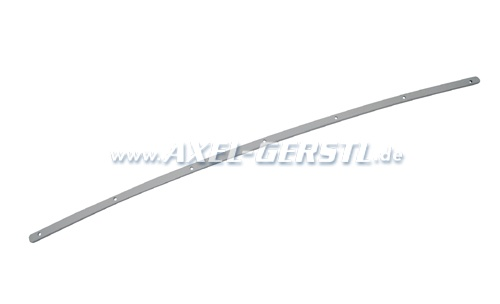 Convertible top front mounting strip