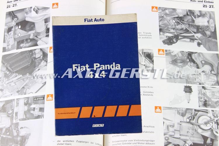 SoPo: Kundendiensthandbuch Fiat Panda 4x4