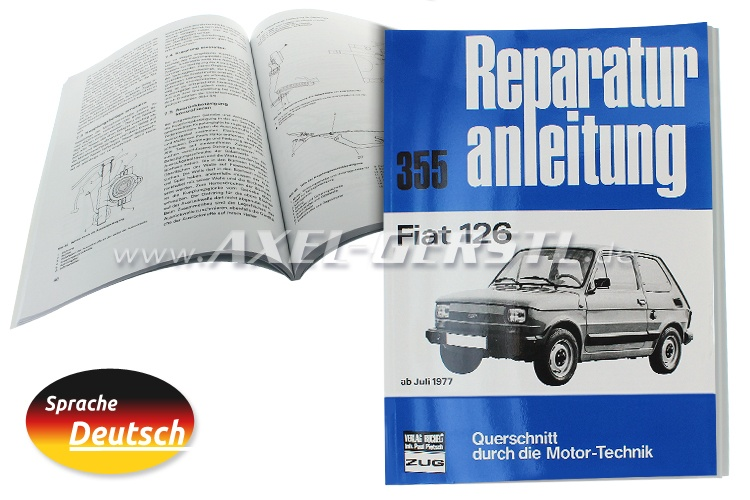 Reparaturanleitung Nr.355, Orig. Bucheli Verlag, 93 S. A4