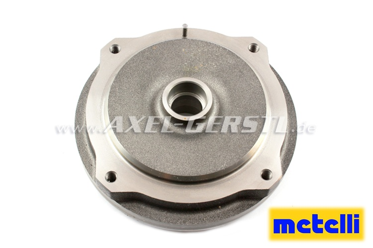 Brake drum, front, pitch circle 190 mm/ diam.170 mm, METELLI