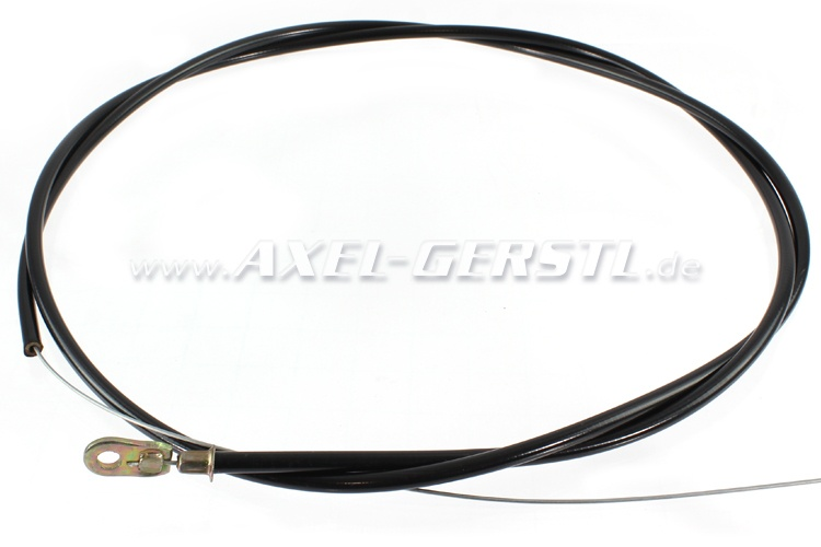 Choke control cable assembly