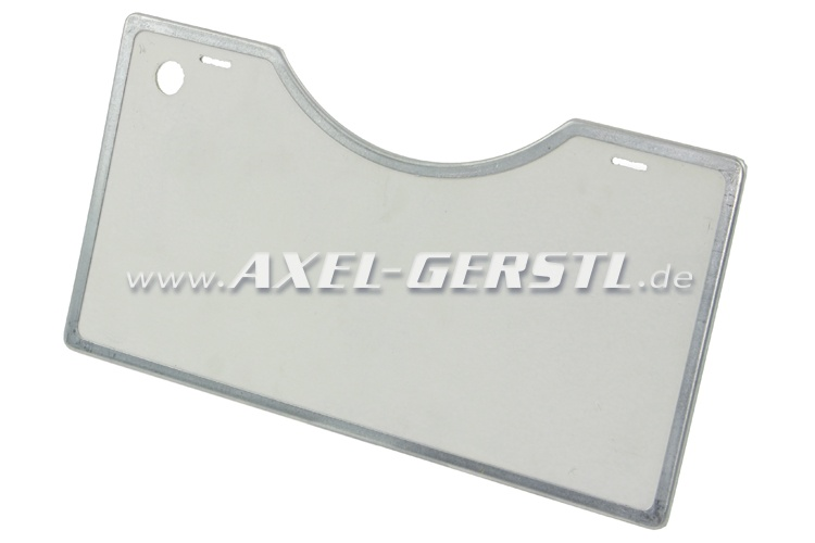 Insulating plate (heat protection) for engine cover, m.frame