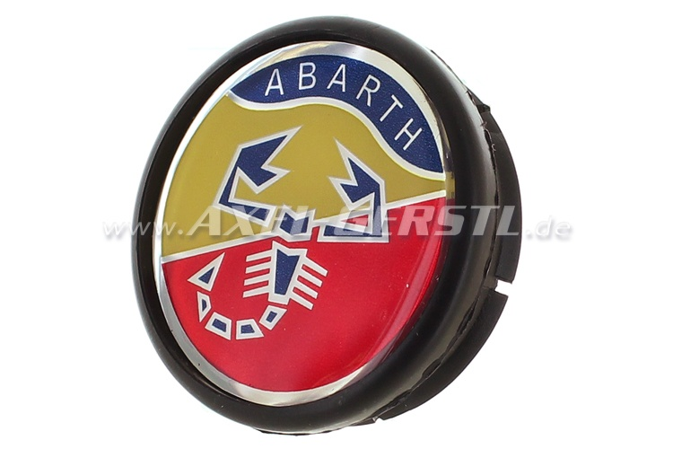 SoPo: Raddeckel Abarth, Wappen 42mm/48mm (Felge mitte)