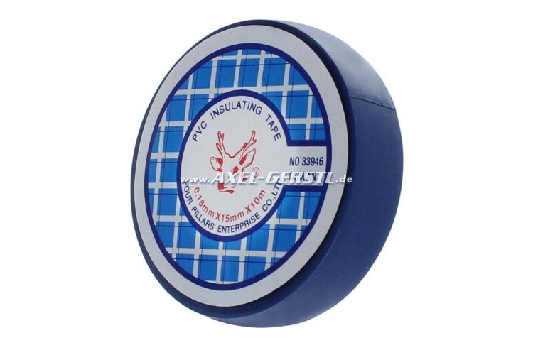 Nastro isolante - azzuro / 0,15 mm x 15 mm x 10 m