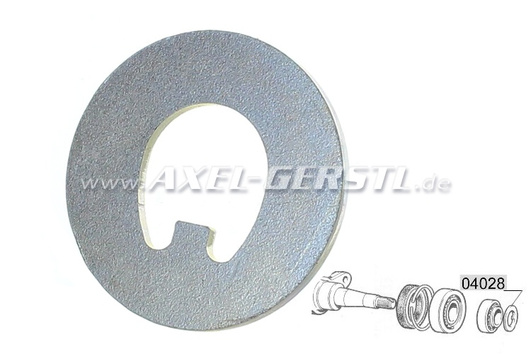 Plain washer for axle stub nut (starting disc)