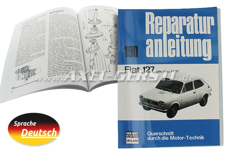 Reparaturanleitung Nr. 190, Orig. Bucheli Verlag, 96 S. A4