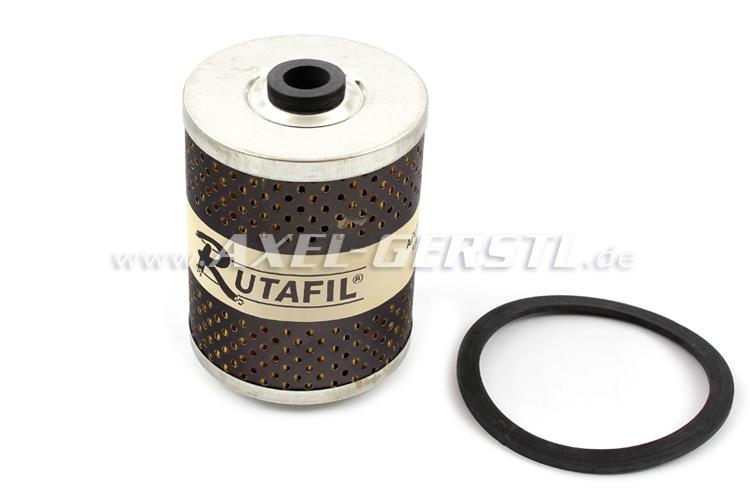 Oil filter insert