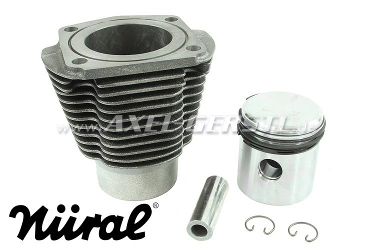 Cylinder liner 500 cc, piston and piston rings included