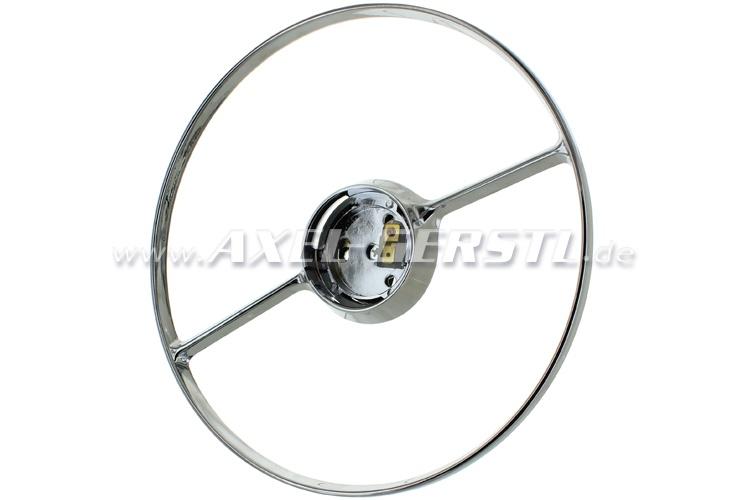 Ring for horn for original steering wheel, chromed