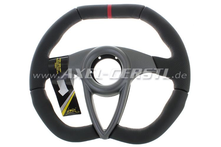 SoPo: Sport-Lenkrad Luisi Anniversario, 350, Leder schwarz