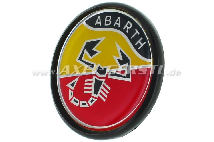 Abarth wheel cover, logo,42mm/54mm