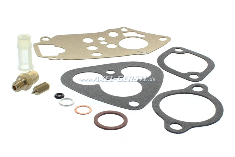 Set of carburetor gaskets 26 IMB 4-5-10-1 with valve (large)