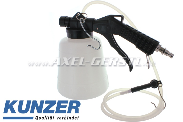 Brake bleeder unit (pneumatic), made by Kunzer
