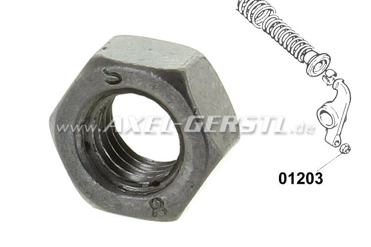 Rocker shaft lock nut 7 x 1 (fits item no. 01210)
