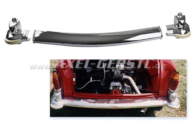 Rear bumper, corner pieces (overrider) included