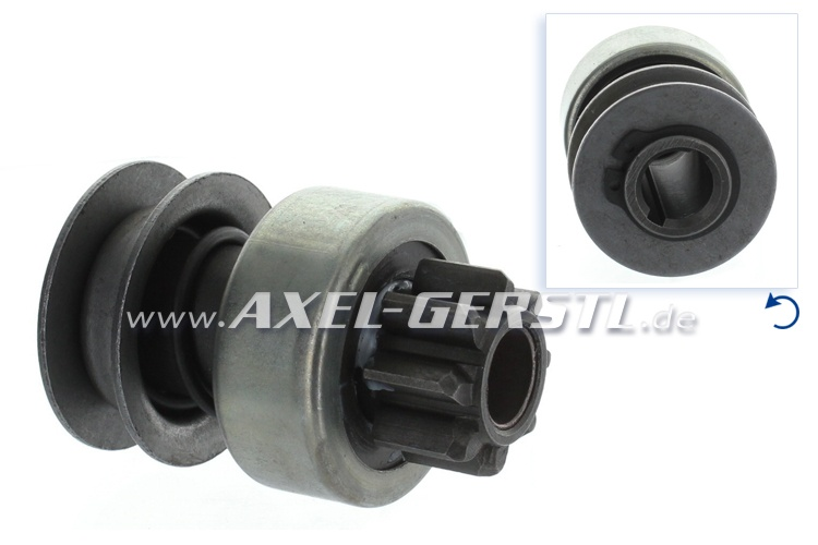 Starter pinion gear