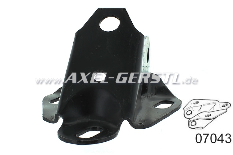Holder front right for rear axle swingarm, new part