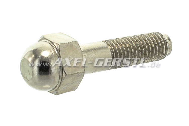 Wheel bolt for 2-part aluminum wheel, M10/40 mm