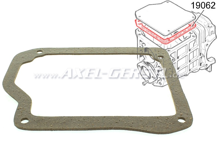 Transmission cover gasket
