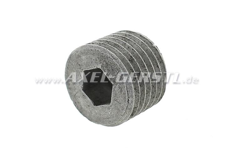 Plug for engine block (aluminum)