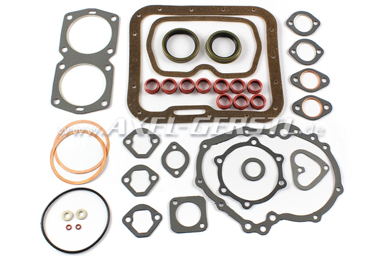 Set of engine gaskets 650 cc with radial shaft seal rings