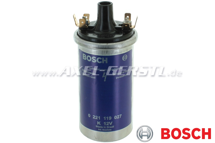 Ignition coil Bosch, blue (high energy ignition coil)