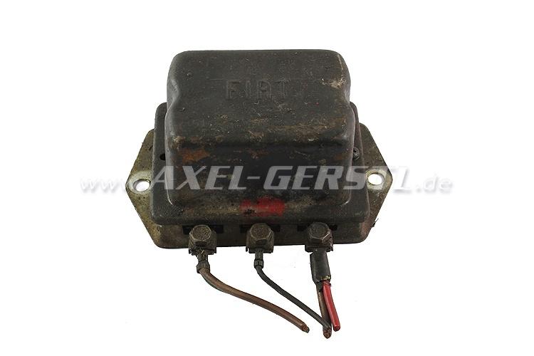 SoPo: Lichtmaschinen-Regler (mechanisch), orig. FIAT