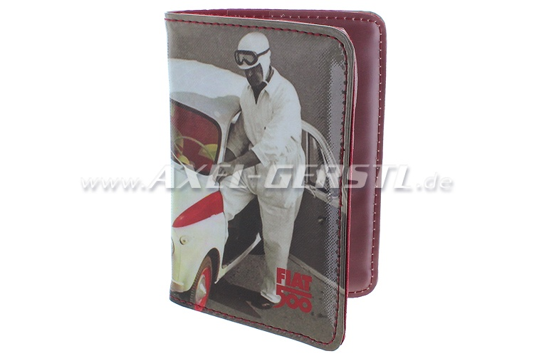 Document wallet, PVC, Fiat 500 Sport