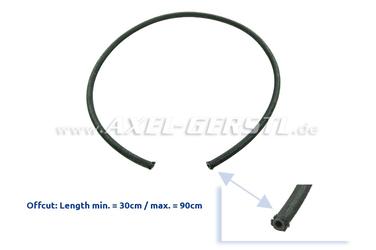 Fuel hose clippings, 6.0 x 9.0 mm (minimum length 30cm)