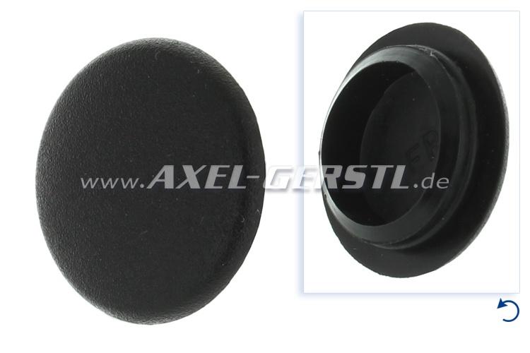 Plastic cap for screw for door-handle/lock