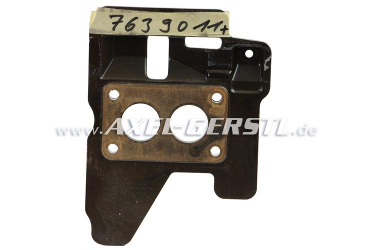SoPo: Bakelitstück (Sockel) für Vergaser, Orig. Fiat 7639011