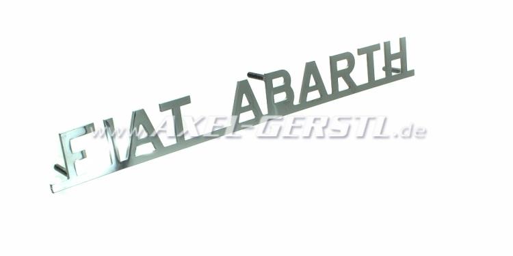 Heckemblem Fiat Abarth, 225 mm lang