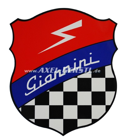 Autocollant Giannini, 200 x 160 mm