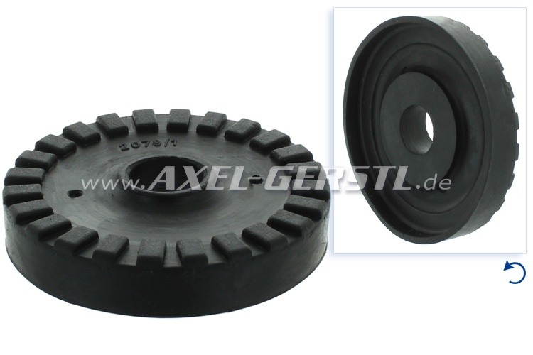 Rubber bearing for engine mounting (center)