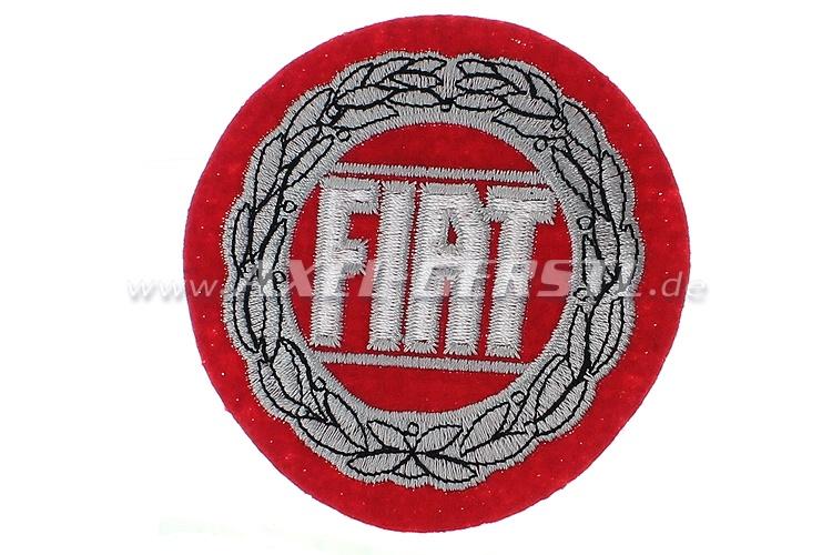 Ricamo Fiat, rotondo 78mm