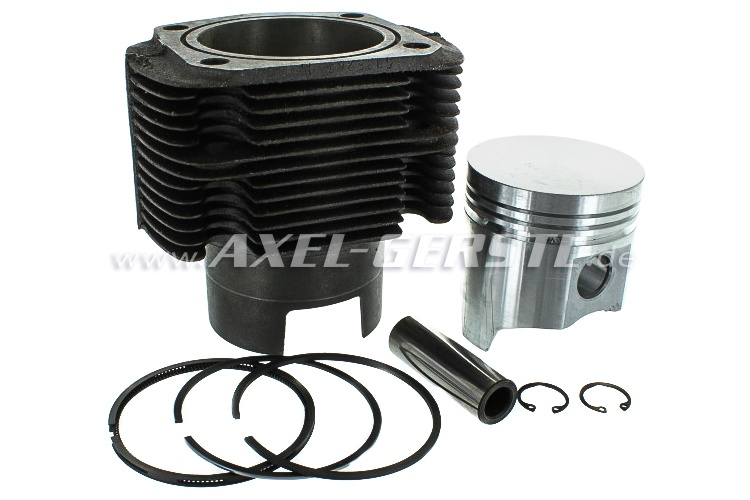 Cylinder liner 650 cc, piston and piston rings included