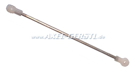 Rod for door-handle / lock, metal, adjustable
